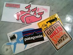 Fill out the form to request a FREE Patagonia Stickers.
