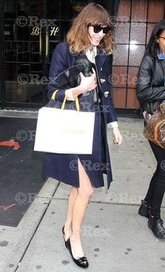 Alexa Chung in Kitty Flats, New York