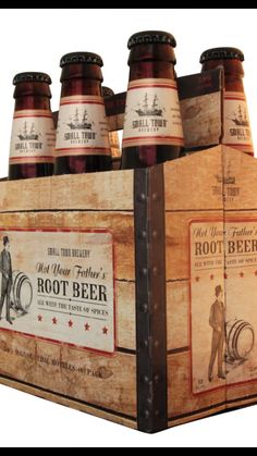 How Not Your Father's Root Beer came to dominate the hard root beer market, and why people are clamoring for the boozy, nostalgic soda pop. Wine Drinks, Cocktail Drinks, Cocktails, Beverages, Not Your Fathers Rootbeer, Best Costco Food, Alcoholic Root Beer, Alcoholic Drinks, Pumpkin Beer