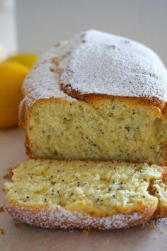 lemon poppyseed loaf cake