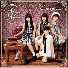 Morning Musume 50th single 「One・Two・Three/The摩天楼ショー」(Limited Edition F Cover)