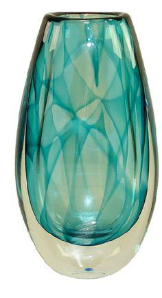"Rare ""Colora""vase (signed Kosta1674) by Vicke Lindstrand."