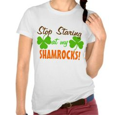 >>>Are you looking for          	Stop Staring at my Shamrocks T Shirts           	Stop Staring at my Shamrocks T Shirts so please read the important details before your purchasing anyway here is the best buyShopping          	Stop Staring at my Shamrocks T Shirts today easy to Shops & Purchase...Cleck Hot Deals >>> http://www.zazzle.com/stop_staring_at_my_shamrocks_t_shirts-235340738042837035?rf=238627982471231924&zbar=1&tc=terrest