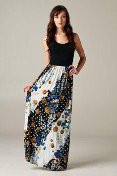 Ellianna Dress in Blue on Emma Stine Limited