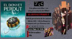 Edicions Secc: Hi ha avistament d'un donyet perdut per Terres de ... Cover, Books, Authors, Reading, Libros, Book, Book Illustrations, Libri