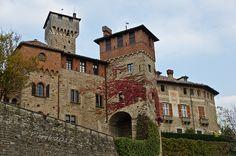 Il castello di Tagliolo - alto monferrato,alessandria,