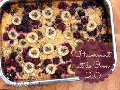 Havermout uit de Oven | Ik heb al eerder een recept voor havermout uit de oven hier geplaatst, maar ik vond dat het tijd was voor een tweede versie. Havermo