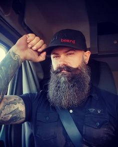 Our yearly competition for the 100 best beards of the year as voted for by bearded men. Mens Hairstyles With Beard, Face Shape Hairstyles, Sexy Beard, Epic Beard, Beard Styles For Men, Hair And Beard Styles, Zac Efron Beard, Barba Sexy, Bearded Tattooed Men