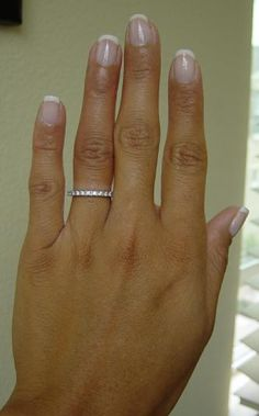 Love this new trend Two diamond bands instead of an engagement