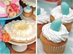 Nest Baby Shower Desserts