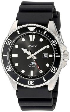 Casio Men's MDV106-1AV 200M Duro Analog Watch, Black  Would make a great daily beater watch