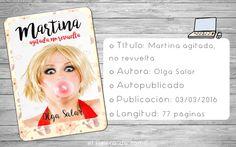 Martina agitada, no revuelta, Olga Salar @olgasalar #resena #book #libro