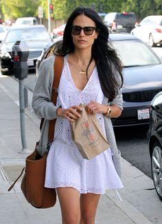 Jordana Brewster Shopping in Los Angeles, 06/24/16