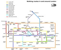 The London Walker's Tube Map | Londonist