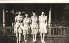 Kathryn Pichette in waitress uniform, cape cod | Flickr - Photo Sharing!