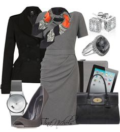 """""""The High Powered Business Meeting - 3"""" by tina-nichols ❤ liked on Polyvore"""