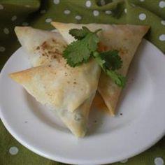 Easy Veggie Samosas