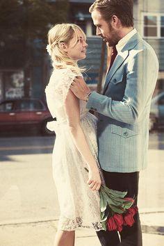 blue valentine - her wedding dress