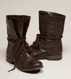 AEO Lace- Up Moto Boot $69.50