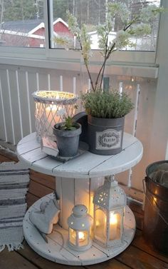 Think Wicker and White for Shabby Chic Lighting