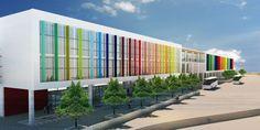 Eğitim — CAGAW Hospital Architecture, University Architecture, Education Architecture, Commercial Architecture, School Architecture, Architecture Concept Diagram, Colour Architecture, Futuristic Architecture, Facade Architecture