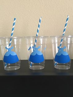 Cinderella Party Cups by DivineGlitters on Etsy https://www.etsy.com/listing/234452811/cinderella-party-cups