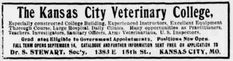 Missouri Colleges that have Closed, Merged, or Changed Names Veterinary Colleges, Missouri, Kansas City, Names