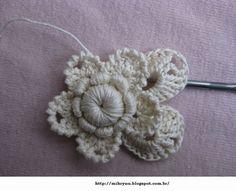 Crochê & Artesanatos: Crochê irlandês