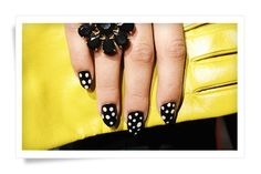 Cute Polka Dots, 10 Best Nail Art Ideas from Fashion Week