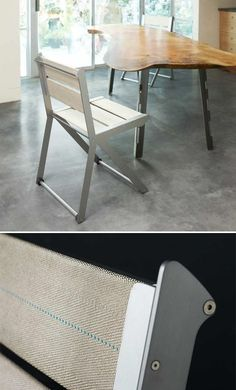 O-Type Firehose Chair by Oxgut Hose Co.