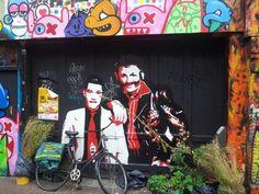 Streetart, Spuistraat, Amsterdam