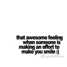 The awesome feeling.