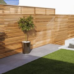Cequence Slatted Cedar Fence Panel - Bevel Edged - Cequence Slatted Fence Panel – Bevel Edged – Contemporary Fencing Best Picture For pool fence - Modern Wood Fence, Cedar Wood Fence, Wood Fence Design, Privacy Fence Designs, Wood Privacy Fence, Modern Fence Design, Wood Fences, Outdoor Privacy, Slatted Fence Panels