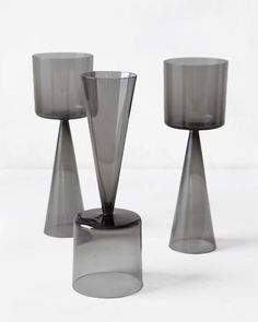 """oliwrr: """" (via For the Home / dual-purpose wine glasses. Decorative Accessories, Home Accessories, Wine Glass, Glass Art, Vases, Bridal Registry, Martha Stewart Weddings, Clever Design, Glass Design"""
