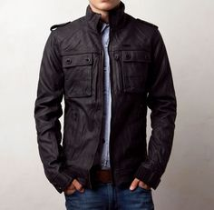 have a jacket almost identical to this one... it's dark navy though... love it