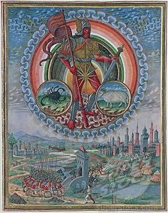 Alchemy: Mars. De Sphaera Biblioteca Estense Universitaria (Modena, Italy), 15th century. An #Alchemy artwork.