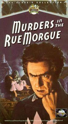 El señor de los bloguiños: El doble asesinato en la calle Morgue (1932) de Ro...