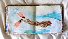 water color book, This would be so cool to do. :)