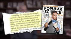 Science Guy Has No Answer? Ken Ham Answers Bill Nye and PopSci