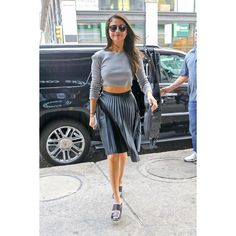 Selena Gomez Casual Style Out in NYC, August 2015 ❤ liked on Polyvore featuring accessories and selena gomez
