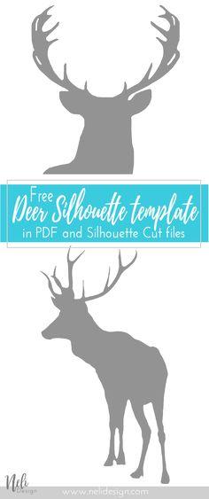 Free Deer Art Printa