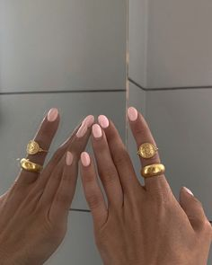 Do It Yourself Nails, How To Do Nails, Pretty Hand, Nail Jewelry, Jewellery, Nail Ring, Funky Nails, Fire Nails, Minimalist Nails