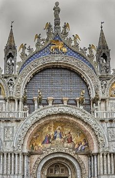 St. Mark's Cathedral Basilica~Piazza San Marco, Venice, Italy