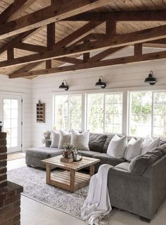 34 Insane Farmhouse Living Room Decor and Design Ideas