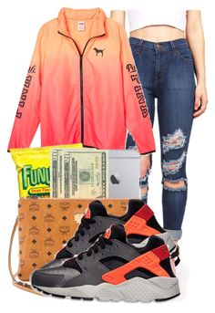 . by ray-royals on Polyvore featuring polyvore, fashion, style, NIKE and clothing