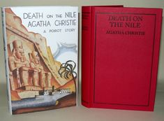 Agatha Christie - Death On The Nile - 2011 - Facsimile Edition, At Bertram's Hotel, The Moving Finger, Death On The Nile, The Big Four, Agatha Christie, Novels, Books, Ebay, Vintage