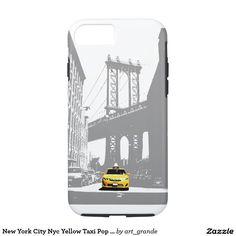New York City Nyc Yellow Taxi Pop Art