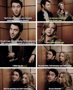 Daniel and Emily Revenge Season 4 Episode 7-Daniel finds out Emily is really Amanda!