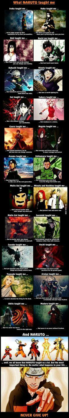 """""""Correction : Kakashi taught me how to be awesome. Naruto taught me how to be friendly. Madara taught me how to be badass. Shikamaru taught me how to be smart. Sasuke taught me how to be a emo, And Sakura. Sakura taught me how to be useless :')"""" Anime Naruto, Naruto Meme, Naruto Shippuden, Boruto, Manga Anime, Naruto Quotes, Naruto Team 7, Naruto Kakashi, Sarada Uchiha"""