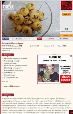 Pastane kurabiyesi Eggs, Breakfast, Food, Morning Coffee, Essen, Egg, Meals, Yemek, Egg As Food